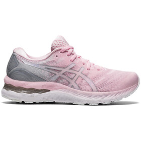 asics Gel-Nimbus 23 Shoes Women, pink salt/pure silver